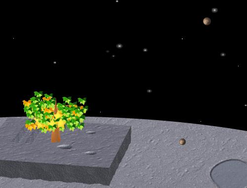コイコイ太陽系 冥王星 コーディネート例