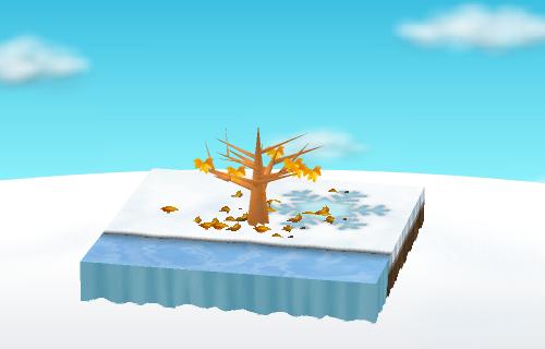 北欧クリスマスシートC 設置例
