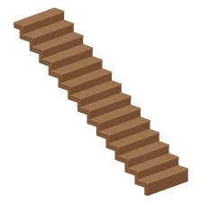 階段ひな壇形