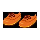 革靴(ひも型)茶