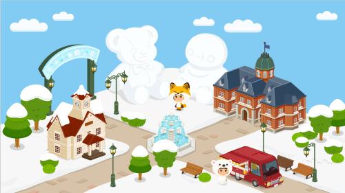 札幌雪祭り会場全体イメージ