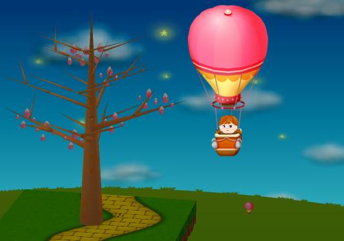 コイコイ気球 設置例