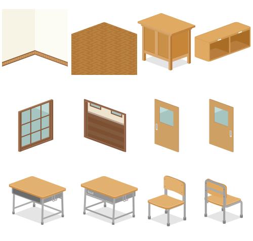 教室部屋袋1