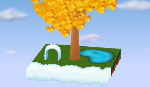 雲のゲート 設置例