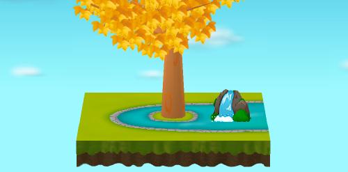 庭園の滝 設置例