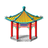 中華風のお堂