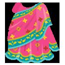 インド衣装サリー ピンク