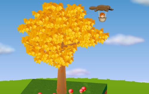 カモノハシ気球 設置例