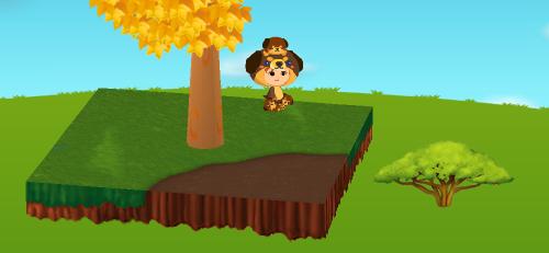 アカシアの木 設置例