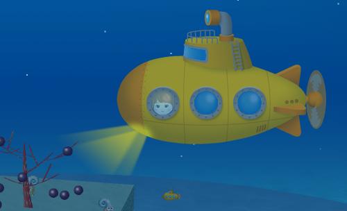 コイコイ潜水艦 設置例