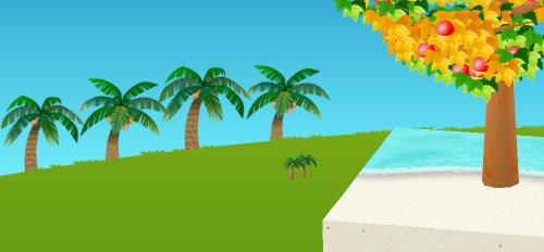 コイコイヤシの木並木 左 設置例