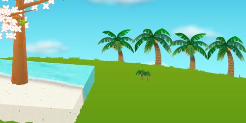 コイコイヤシの木並木 右 設置例