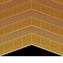 お城の広間風壁
