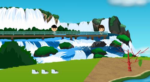 コイコイイグアスの滝 設置例