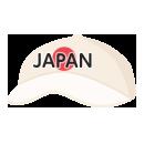 日の丸JAPANキャップ