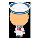 水兵さんの服