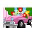 クラシックカープランター ピンク