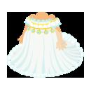 クリスタルドレス