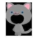 猫の着ぐるみ ロシアンブルー