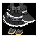 ロリータ衣装 ブラック