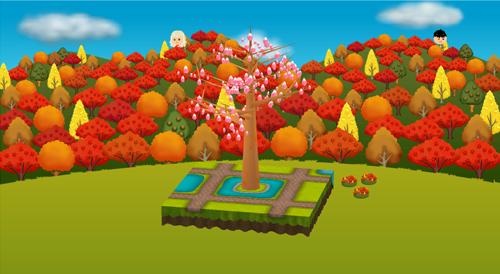 コイコイ紅葉の山 設置例