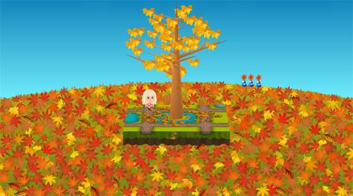 コイコイ大地の紅葉の園 設置例