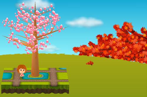 コイコイ紅葉の木 設置例