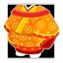 壺装束 橙