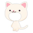 猫の着ぐるみ シロ