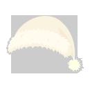 サンタ帽 ホワイト