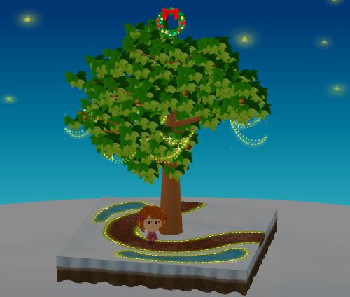 トップクリスマスリース 設置例