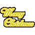 メリークリスマスサイン