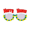 パーティーサングラス クリスマス