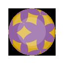 手持ち珠 紫