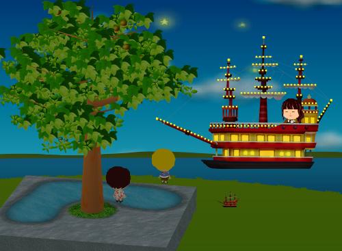 コイコイ遊覧船 設置例