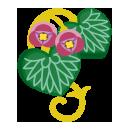 葵の髪飾り