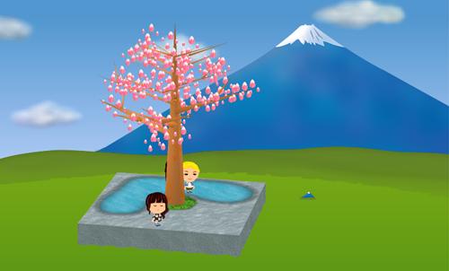 コイコイ箱根富士 設置例