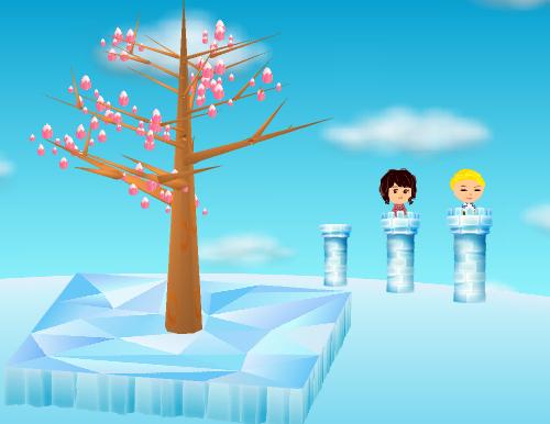 氷の塔 大/中/小 設置例