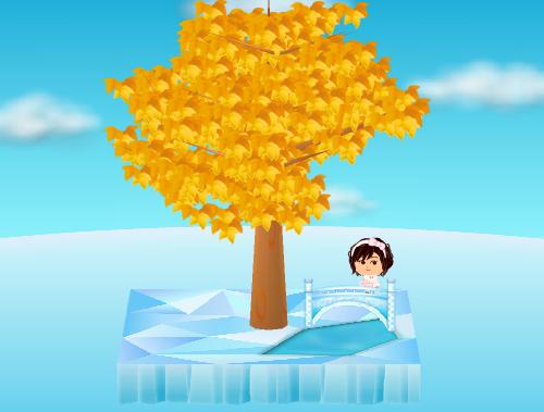 氷の橋 横向き 設置例