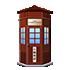 レトロ電話ボックス