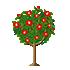 椿の木 赤