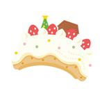 クリスマスケーキ帽