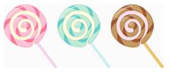 ぐるぐるキャンディ