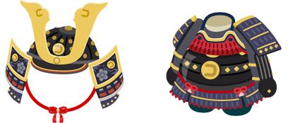 戦国の兜&鎧