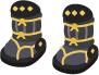 戦国の鎧靴