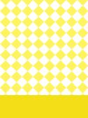市松 レモン