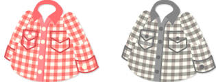 ギンガムシャツ 2色