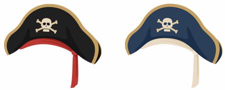 海賊帽 2色