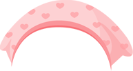 三角巾(ハート)