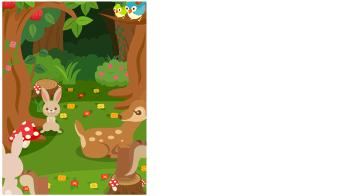 背景:森の動物たち